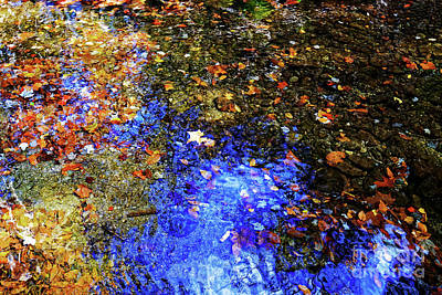 Photograph - Rough Creek Abstract by Paul Mashburn