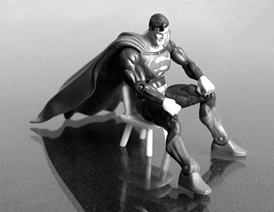 Superman Wall Art - Photograph - Rough Day by Andy Mulle