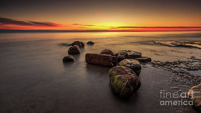 Photograph - Rough Harrington Sunrise by Andrew Slater