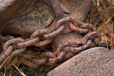 Rough Hewn Chain Art Print