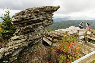 Photograph - Rough Ridge In Autumn by Fran Gallogly
