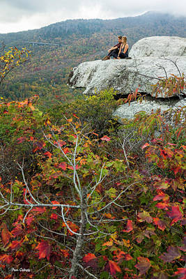 Photograph - Rough Ridge Vista by Fran Gallogly