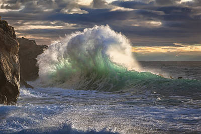 Photograph - Rough Sea 11 by Giovanni Allievi
