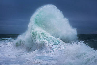 Photograph - Rough Sea 14 by Giovanni Allievi