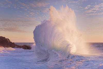 Photograph - Rough Sea 15 by Giovanni Allievi
