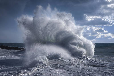 Photograph - Rough Sea 20 by Giovanni Allievi