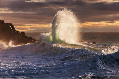 Photograph - Rough Sea 21 by Giovanni Allievi