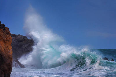 Photograph - Rough Sea 22 by Giovanni Allievi