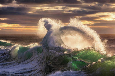 Photograph - Rough Sea 23 by Giovanni Allievi