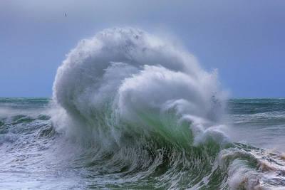 Photograph - Rough Sea 24 by Giovanni Allievi