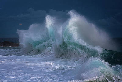 Photograph - Rough Sea 25 by Giovanni Allievi