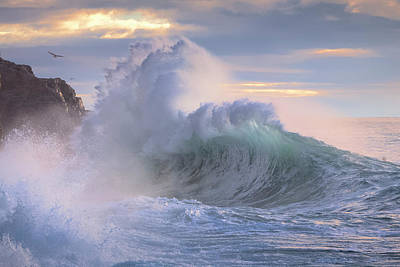 Photograph - Rough Sea 26 by Giovanni Allievi