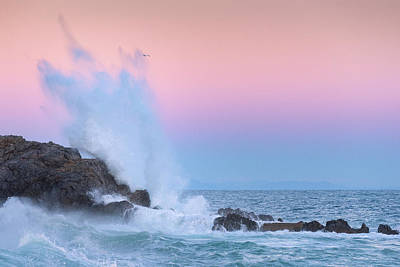 Photograph - Rough Sea 28 by Giovanni Allievi