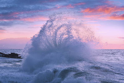 Photograph - Rough Sea 29 by Giovanni Allievi