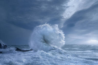 Photograph - Rough Sea 31 by Giovanni Allievi