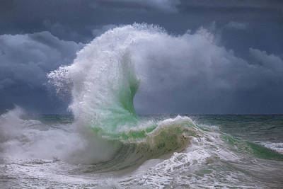 Photograph - Rough Sea 4 by Giovanni Allievi