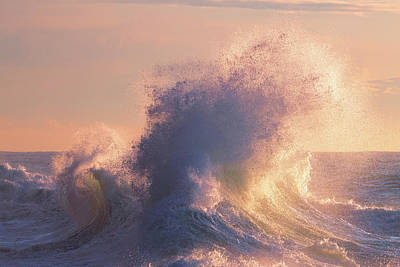 Photograph - Rough Sea 6 by Giovanni Allievi