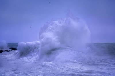 Photograph - Rough Sea 8 by Giovanni Allievi