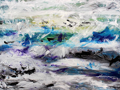 Painting - Rough Sea by Kume Bryant