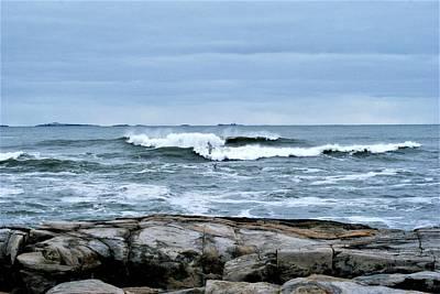 Photograph - Rough Seas 2 by Lois Lepisto