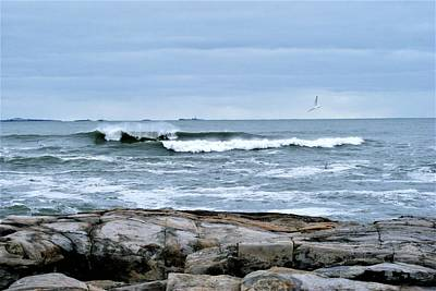 Photograph - Rough Seas by Lois Lepisto