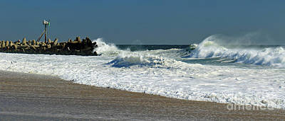 Photograph - Rough Surf by Mary Haber
