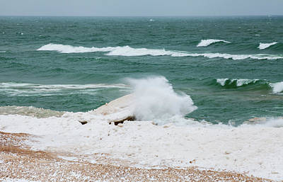 Photograph - Rough Water by Fran Riley