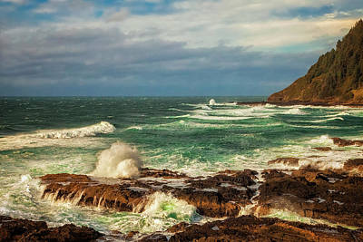 Photograph - Rough Waters by Andrew Soundarajan