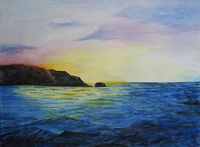 Painting - Rough Waters.. by Betty-Anne McDonald