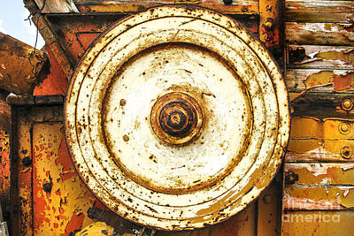 Round And Around And Art Print by Kim Lessel