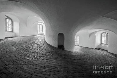 Brick Building Photograph - Round And Round We Go by Inge Johnsson
