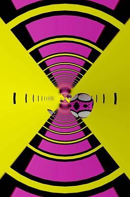 Digital Art - Round Ball Art by Sheila Mcdonald