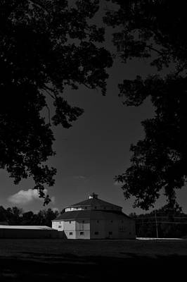 Photograph - Round Barn And Oaks by Photography by Tiwago