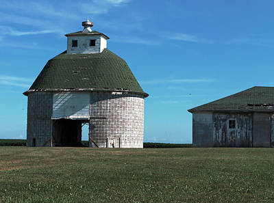 Photograph -  Round Barn by Tom Druin