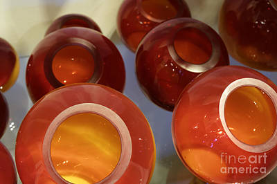 Photograph - Round Decorative Glassware by John  Mitchell