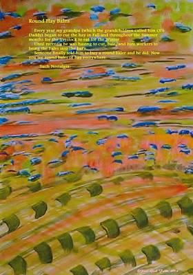 Round Hay Bales Original