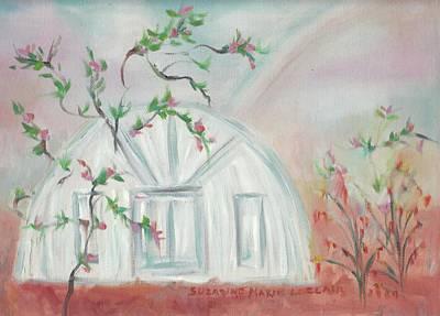 Round House Art Print