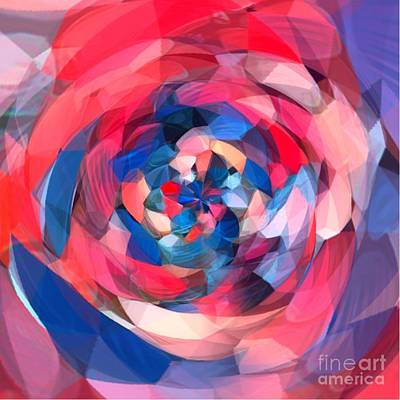 Digital Art - Round Maze by Gayle Price Thomas