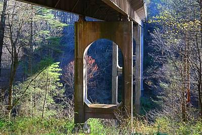 Photograph - Round Meadow Creek Bridge by Kathryn Meyer