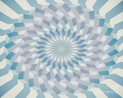 Round Pattern 170.4 Art Print by Igor Kislev