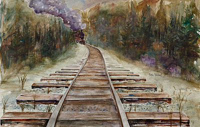 'round The Bend Print by Renee Chastant