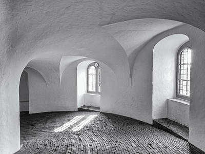 Photograph - Round Tower Arches by Robin Zygelman