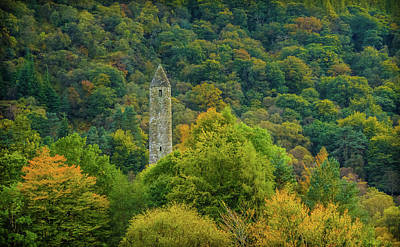 Landscapes Photograph - Round Tower, Glendalough Co. Wicklow by Fergal Gleeson
