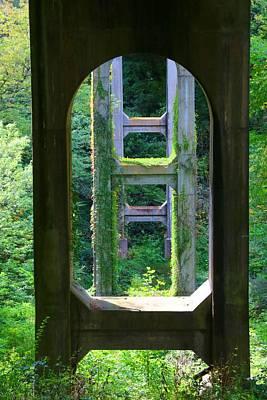 Photograph - Round Tree Meadow Bridge 2 by Kathryn Meyer