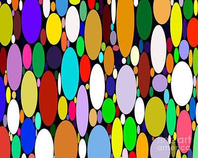 Skateboard Digital Art - Rounded Color Variety by Lee Serenethos