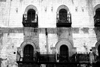 Photograph - Rounded Windows In Jerusalem by John Rizzuto