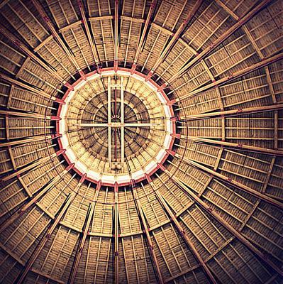 Photograph - Roundhouse Architecture by Joseph Skompski