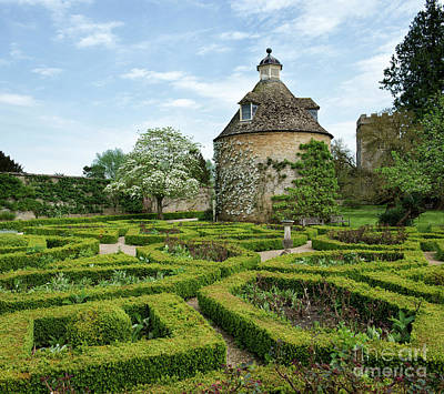Photograph - Rousham Gardens In Spring by Tim Gainey