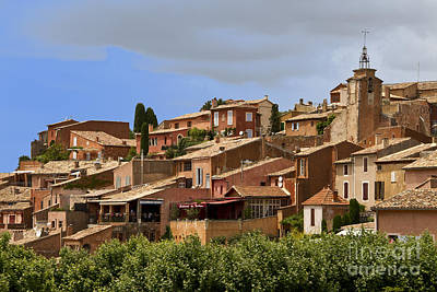Photograph - Rousillon by Stan and Anne Foster