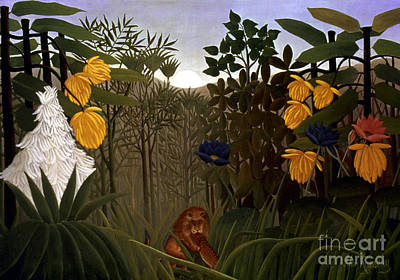 Aodcc Photograph - Rousseau: Lion by Granger